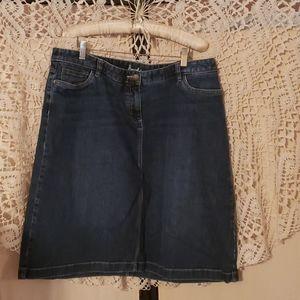 Boden Jean Skirt 18L